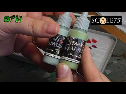 SCALE 75 FANTASY & GAMES PAINT REVIEW!!