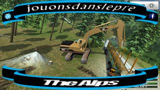 farming simulator 2013 /The Alps / SAISON 2 / Forest Edition EP 2