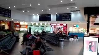 オーストラリアケアンズの空港の様子