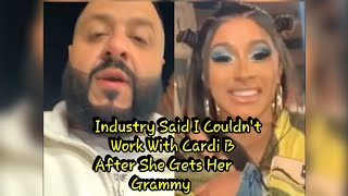 DJ Khaled Working With Cardi B After Industry Said He Couldn