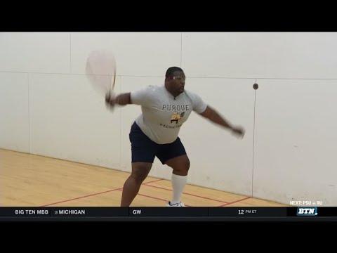 Spice vs. Purdue Racquetball   Purdue   BTN Tailgate