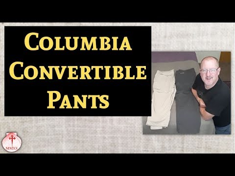 Columbia Convertible Pants Review
