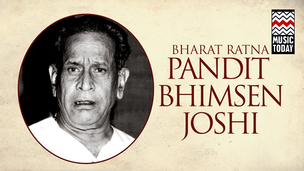 Biography of Pandit Bhimsen Joshi