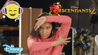 Descendants 2 | 'What's My Name?' Dance Tutorial 💜 | Disney Channel UK