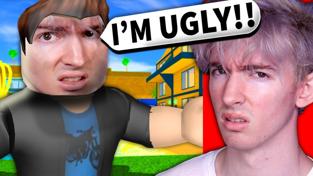 Pictures Of Roblox Players With No Face Putting My Real Face On Roblox Players With Admin They Insulted