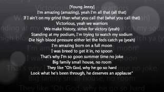 Amazing - Kanye West feat. Young Jeezy Lyrics (official)