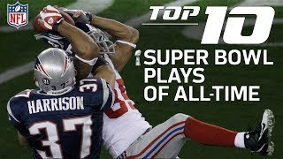 top 10 super bowl plays of all time nfl highlights