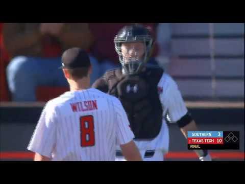 Texas Tech Baseball Vs. Southern: Highlights (W, 10-3) | 2.26.2020