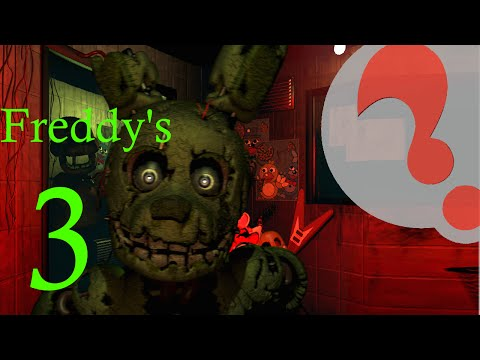 Five Nights at Freddy's 3,  Demo Gameplay, mobile Android / iOs