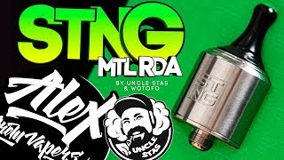 STNG MTL RDA (КОПАТЫЧ) l by Uncle Stas & Wotofo l Alex VapersMD review