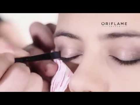 Легкий вечерний макияж от Oriflame
