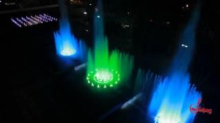 Завораживающий поющий фонтан в Краснодаре