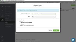 [Tutorial] Adding users to your MongoDB Atlas group