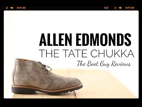 Allen Edmonds TATE CHUKKA [ The Boot Guy Reviews ]