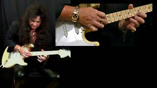 Yngwie Malmsteen Lesson - Picking Techniques