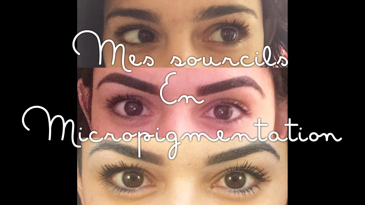 Fabuleux Mes Sourcils en MicroPigmentation - YouTube QJ43