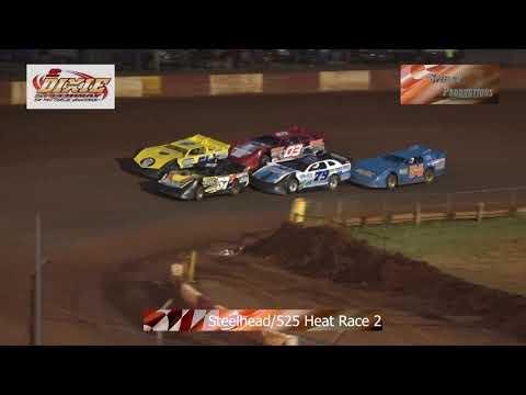 Dixie Speedway Steelhead/525 Heats 8/24/19!