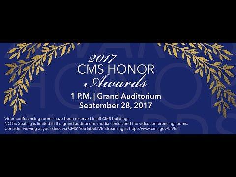 2017 Sep 28th, CMS Honor Awards