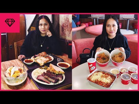 What To Eat In Houston + Travel Vlog | Nitro:licious