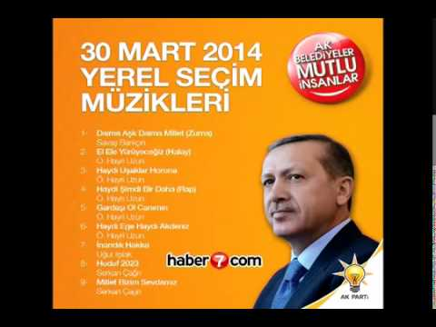 Elele Yürüyeceğiz - AK Parti Seçim Müzikleri 2014 - Ö. Hayri Uzun Halay