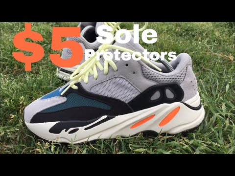 Sole Protectors on Yeezy 700 wave runners