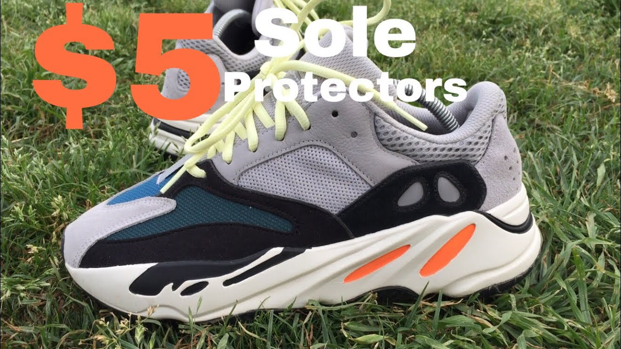 sale retailer d235a 250f3 Sole Protectors on Yeezy 700 wave runners