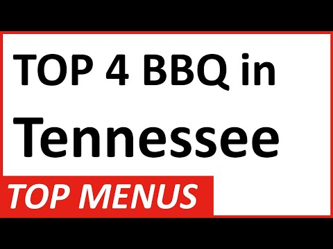 Top 4 BBQ Restaurants In Tennessee: See Menus From Nashville To Memphis And Great BBQ Traditions