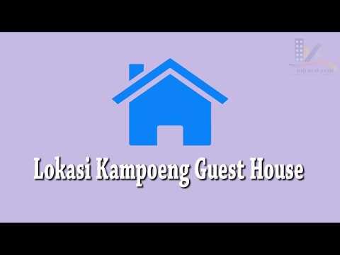 Peta Lokasi Guest House Jogja (Kampoeng Guest House)