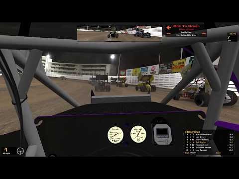 iRacing-WoO 410 Sprint Car @ Knoxville Raceway
