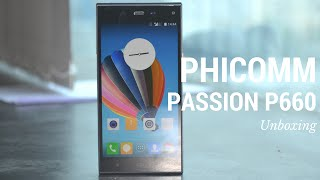 phicomm passion 660 unboxing features otg camera review