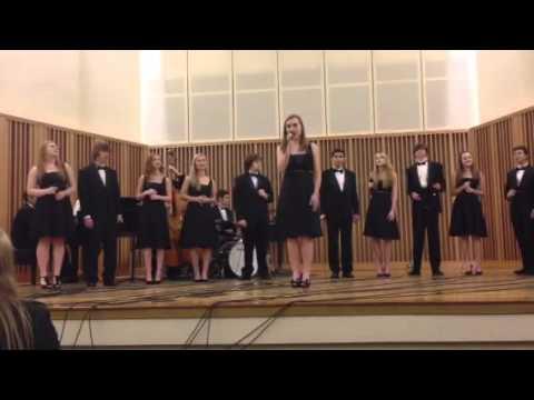 Bishop Blanchet High School Jazz Choir performing at Lionel