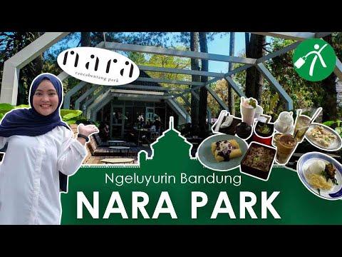 Keluyuran Sambil Kulineran di Nara Park Bandung, Adem Banget