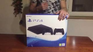 Unboxing PS4 slim 1 Tb ITA