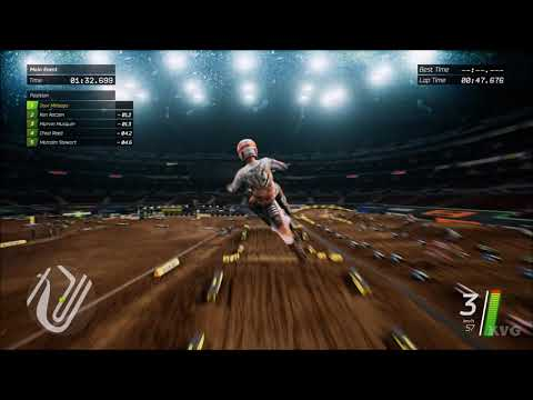 Monster Energy Supercross - St. Louis (The Dome At America's Center) - Gameplay (PC HD) [1080p60FPS]
