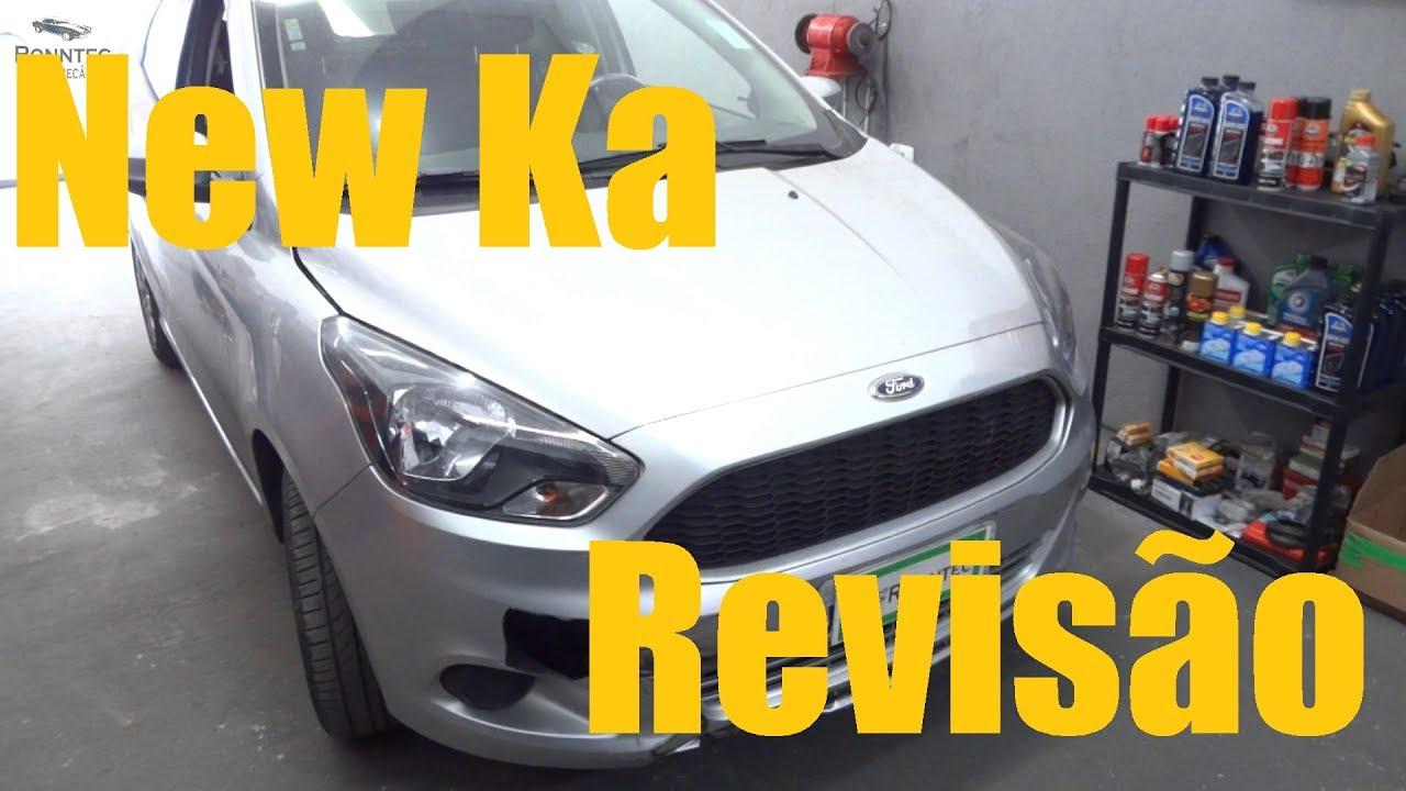 New Ford Ka  Cil Revisao De Oleo E Filtros