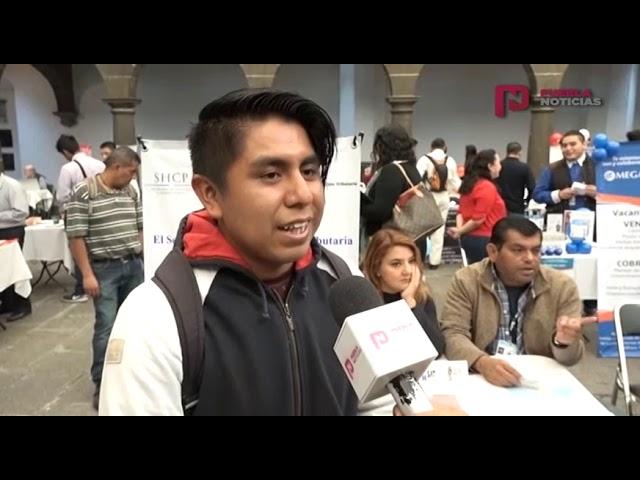 #PueblaNoticias Cuarta Feria del Empleo en Puebla