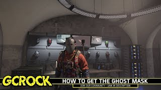 How to get the Ghost Mask in The Division 2