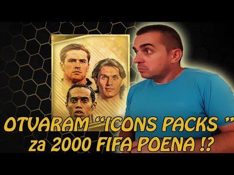 """OTVARAM """"ICONS PACKS"""" za 2000 FIFA POENA - FIFA Football"""