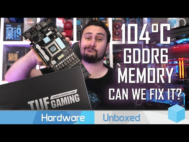 Fixing the 5700 XT TUF, How Much Cooler Can We Make It?