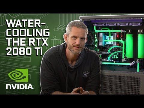 GeForce Garage - Watercooling RTX 2080 Ti for JayzTwoCents' Skunkworks.