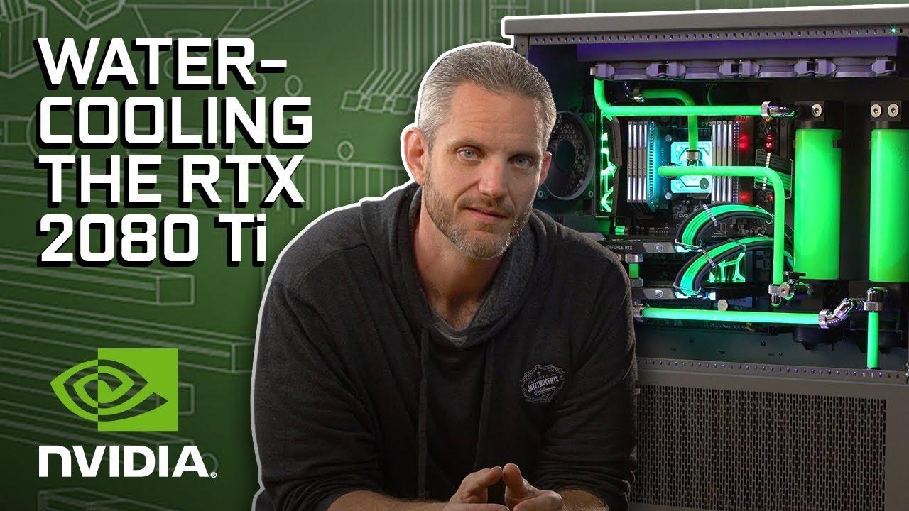 GeForce Garage - Watercooling RTX 2080 Ti for JayzTwoCents' Skunkworks