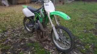 Kawasaki kx 125 | 2002 | exhaust sound