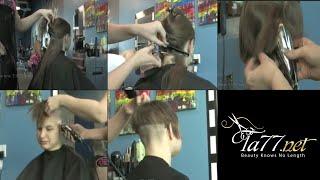 Free TA77.net video - Wendy - Part 1: She Gets An Undercut Bob