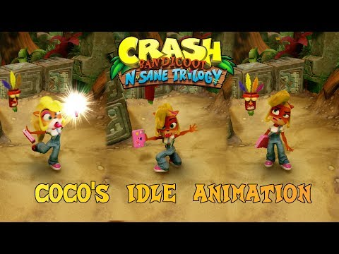 Crash Bandicoot N. Sane Trilogy: Coco Idle Animation