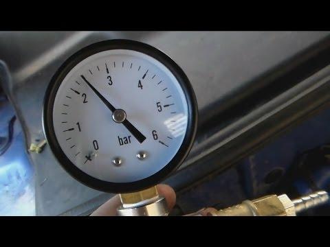 Самодельный топливный манометр. Замер давления на инжекторе