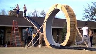 Distraction: Epic backyard Slip 'n Slide