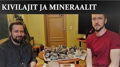 Kivilajit ja mineraalit, vieraana Aku Heinonen