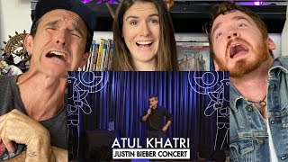 ATUL KHATRI ON THE JUSTIN BIEBER CONCERT REACTION!! | Stand Up Comedy