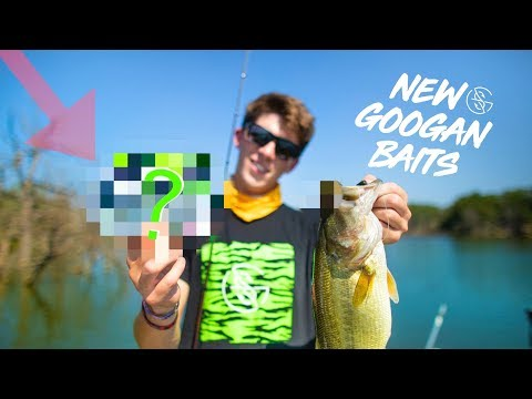 CATCHING FISH on NEW GOOGAN BAITS!