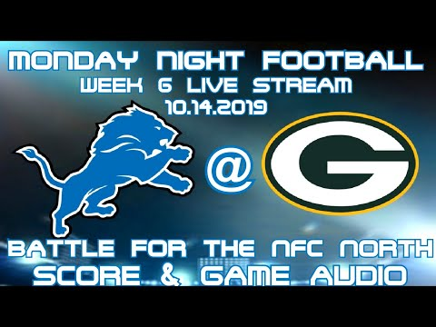DETROIT LIONS @ GREEN BAY PACKERS MNF WEEK 6 LIVE STREAM WATCH PARTY[GAME AUDIO ONLY]